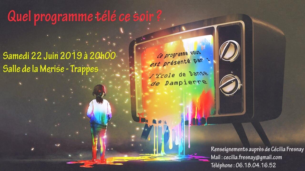 Affiche du Gala de Danse 2019